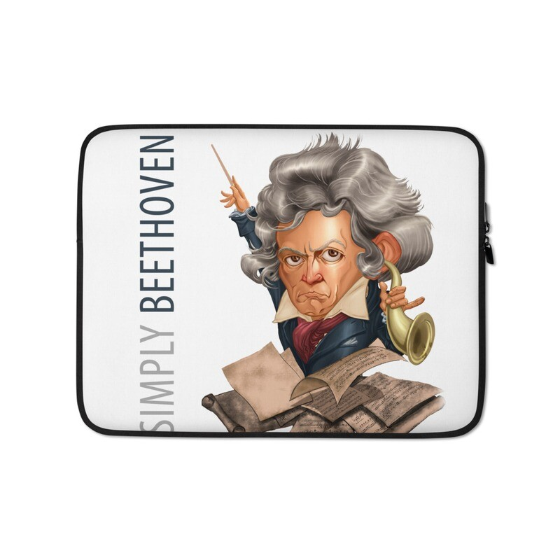 Simply Beethoven Laptop Sleeve