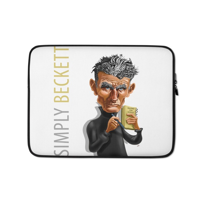 Simply Beckett Laptop Sleeve