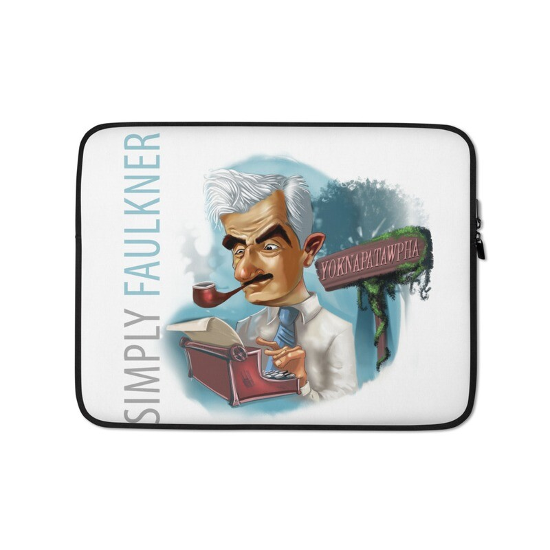 Simply Faulkner Laptop Sleeve