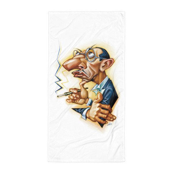 Simply Stravinsky Towel