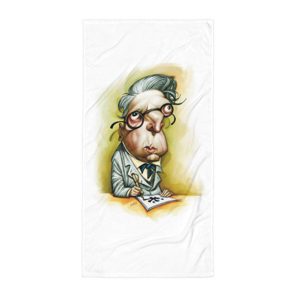 Simply Yeats Towel