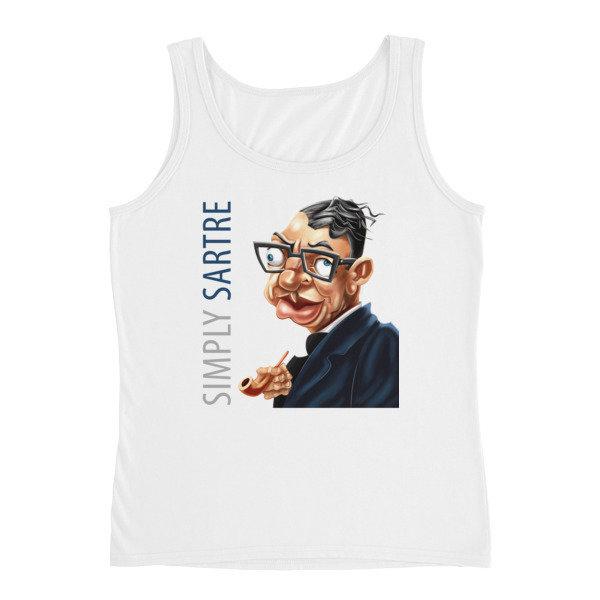 Simply Sartre Ladies' Tank