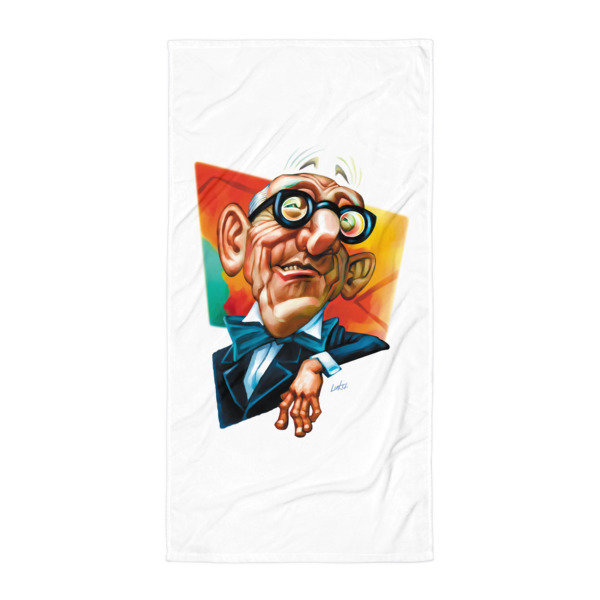 Simply Le Corbusier Towel