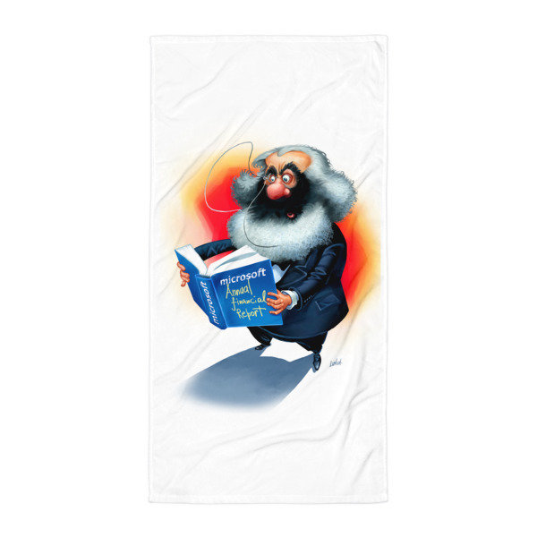 Simply Marx Towel