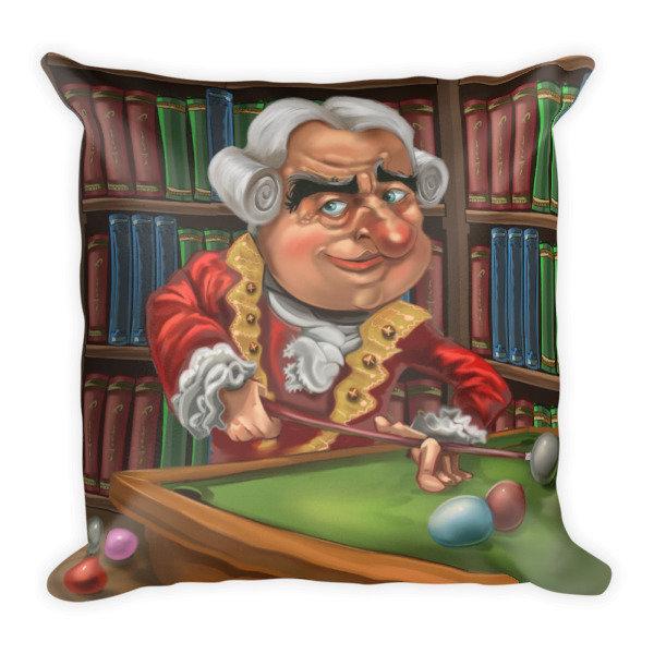 David Hume Square Pillow