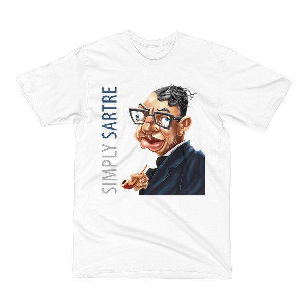 Simply Sartre Men's T-Shirt