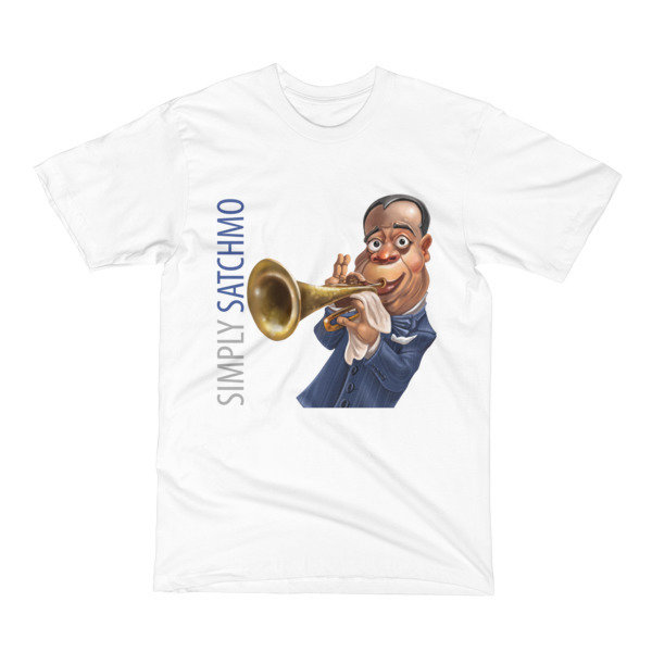 Simply Satchmo Men's T-Shirt