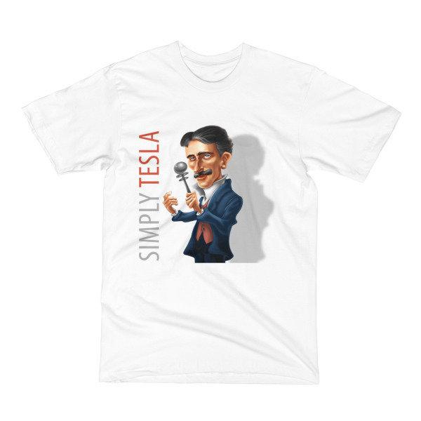 Simply Tesla Men's T-Shirt