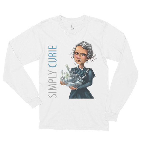 Simply Curie Long Sleeve T-Shirt (unisex)