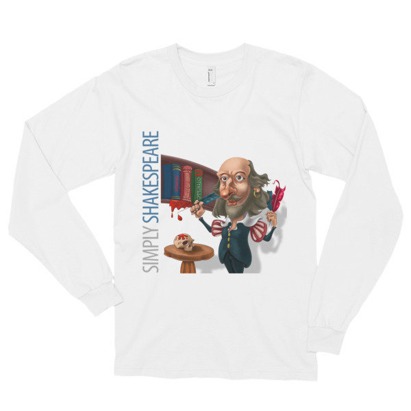 Simply Shakespeare Long Sleeve T-Shirt (unisex)