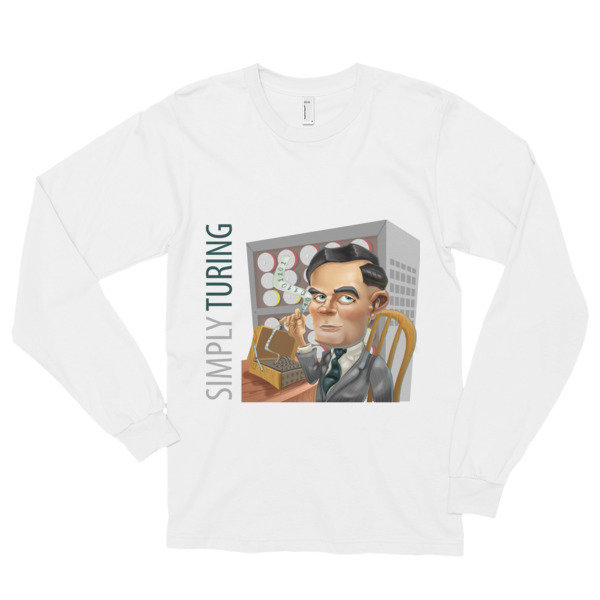 Simply Turing Long Sleeve T-Shirt (unisex)