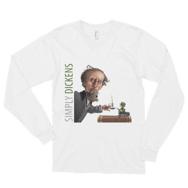 Simply Dickens Long Sleeve T-Shirt (unisex) 16749