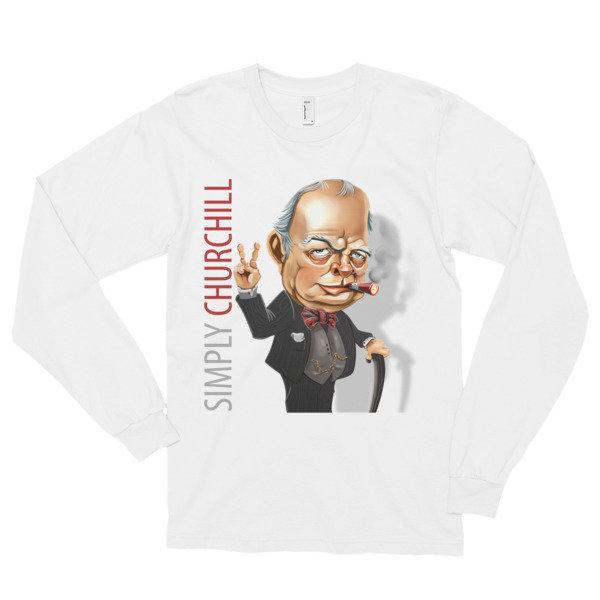 Simply Churchill Long Sleeve T-Shirt (unisex)