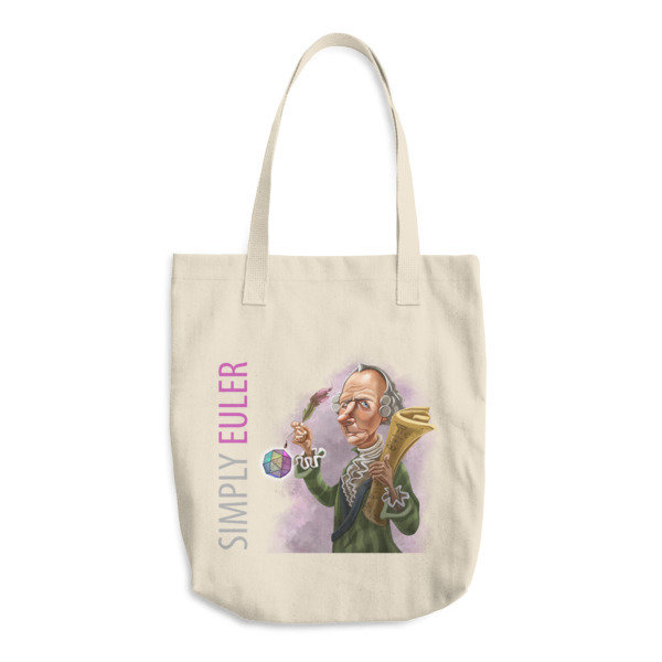 Simply Euler Cotton Tote Bag