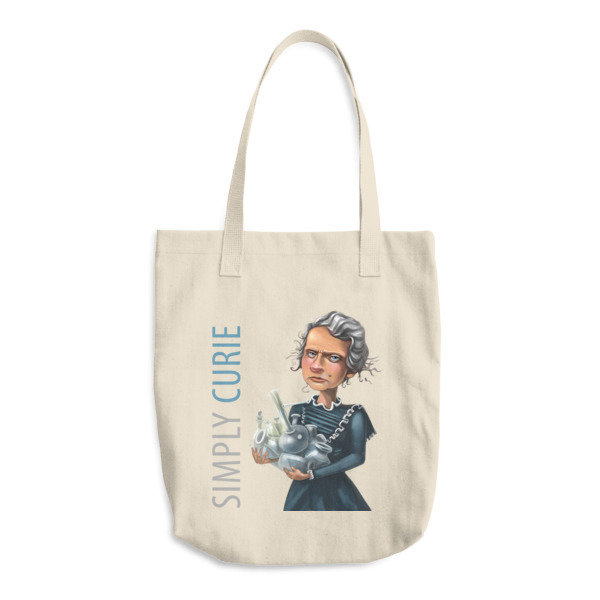Simply Curie Cotton Tote Bag