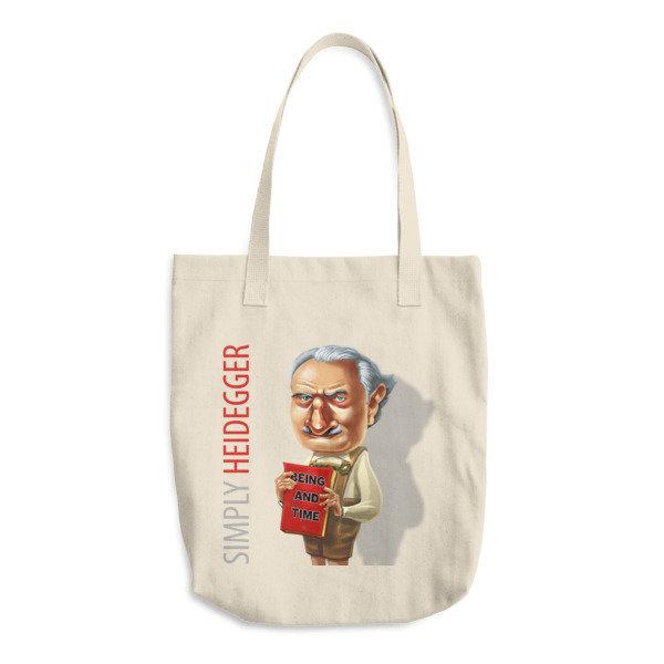Simply Heidegger Cotton Tote Bag