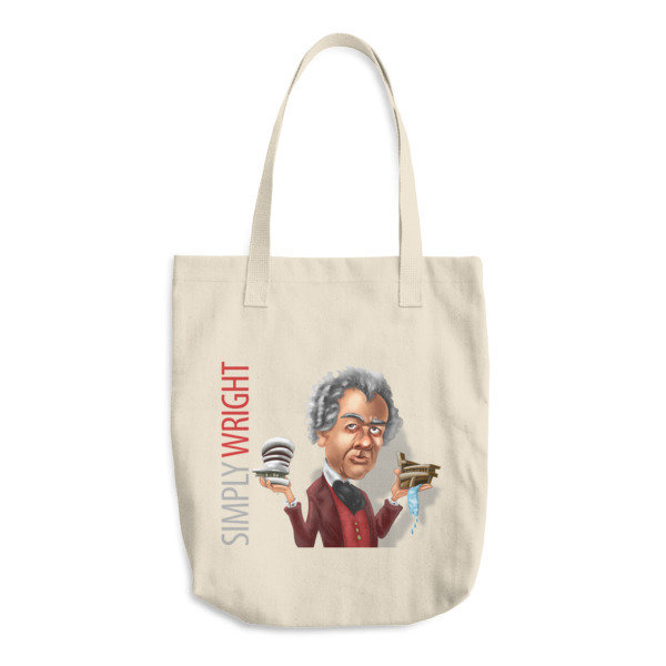 Simply Wright Cotton Tote Bag