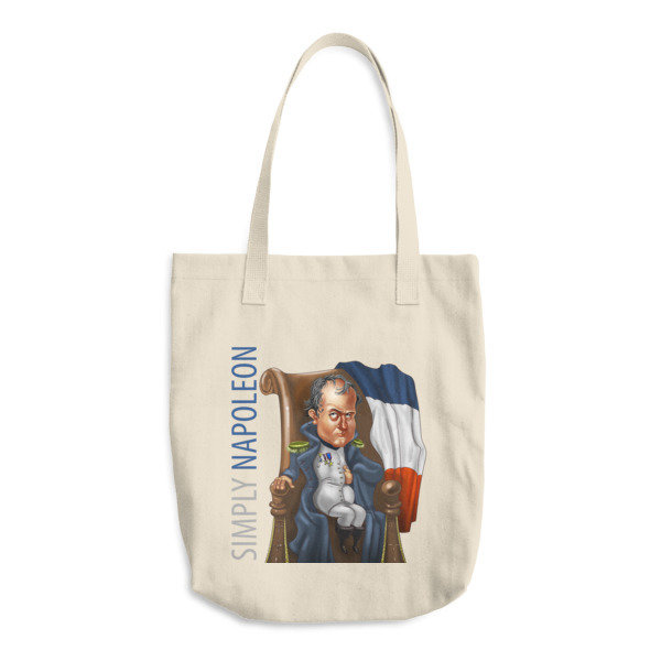 Simply Napoleon Cotton Tote Bag