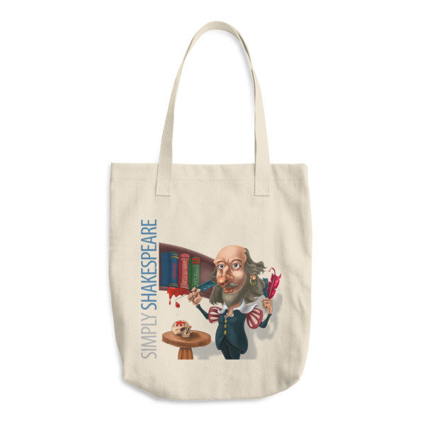 Simply Shakespeare Cotton Tote Bag