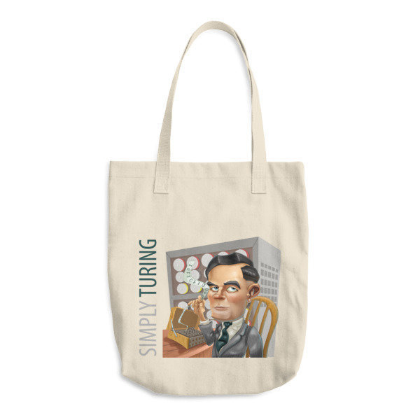 Simply Turing Cotton Tote Bag