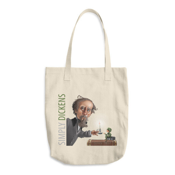 Simply Dickens Cotton Tote Bag