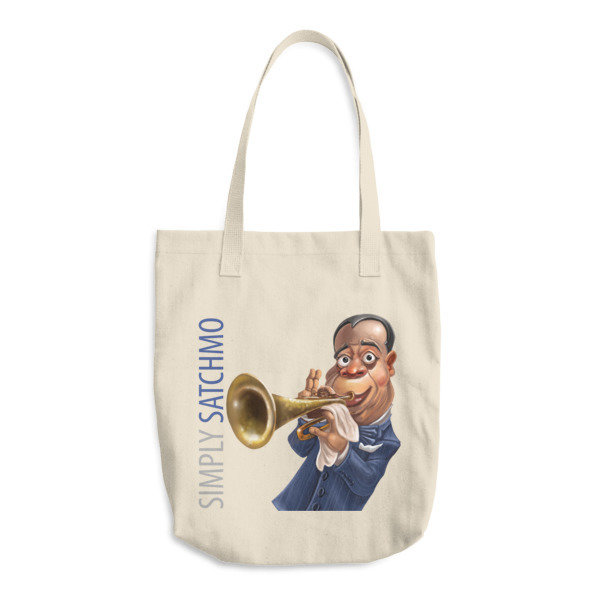 Simply Satchmo Cotton Tote Bag