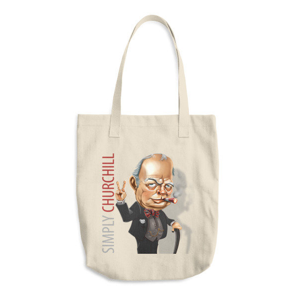 Simply Churchill Cotton Tote Bag