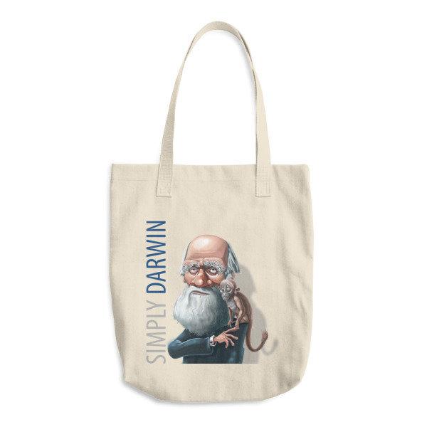 Simply Darwin Cotton Tote Bag