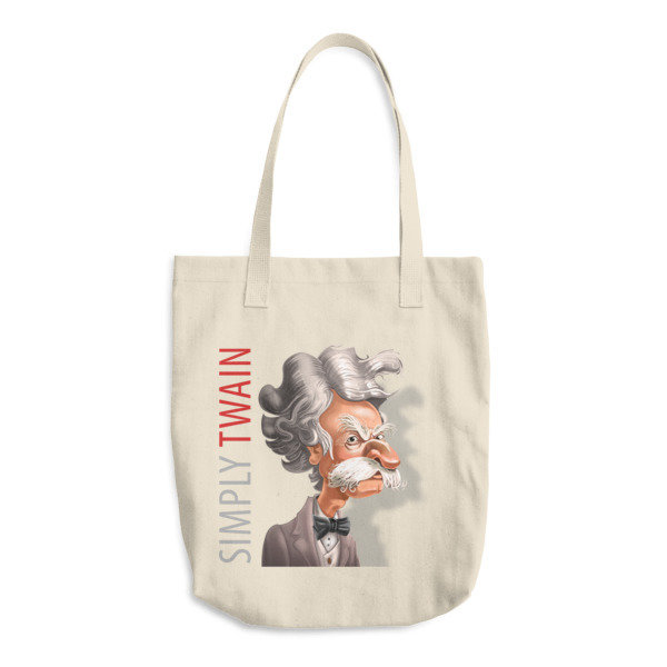 Simply Twain Cotton Tote Bag