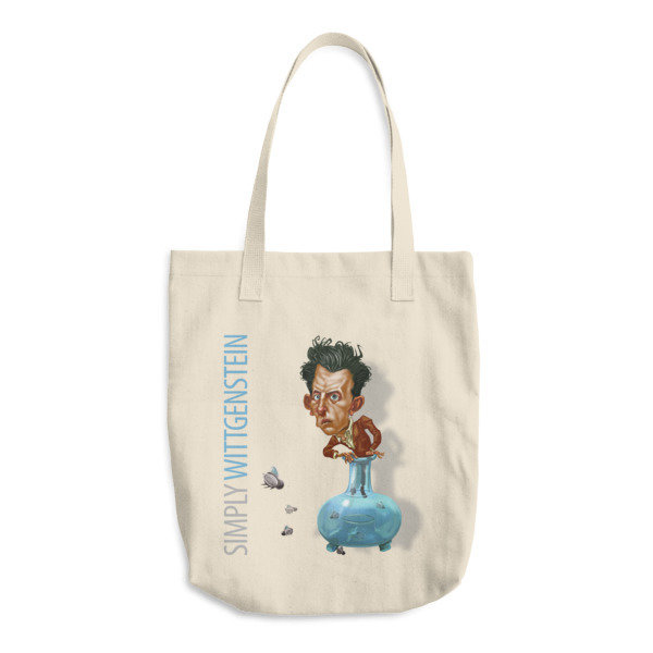 Simply Wittgenstein Cotton Tote Bag