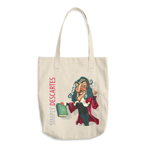 Simply Descartes Cotton Tote Bag