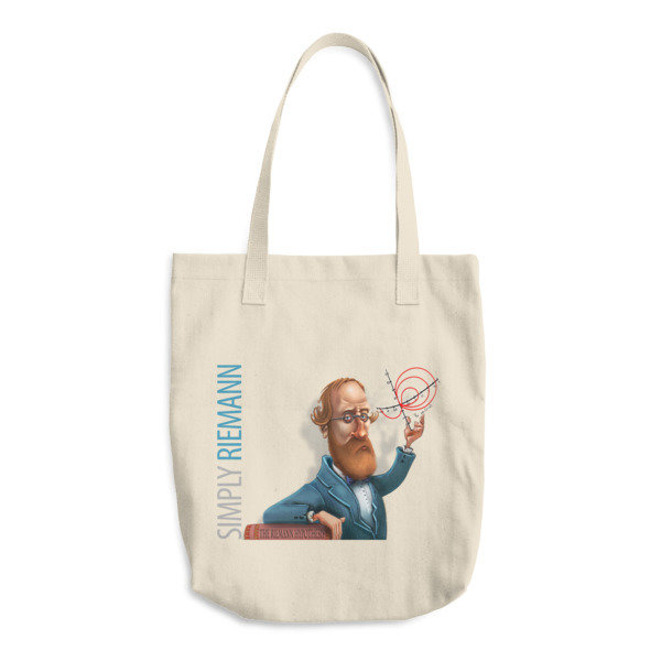 Simply Riemann Cotton Tote Bag