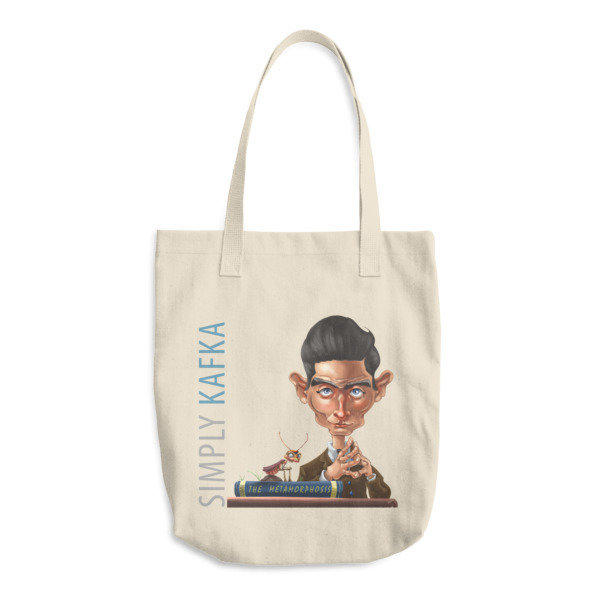 Simply Kafka Cotton Tote Bag
