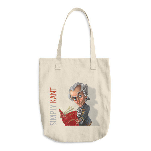 Simply Kant Cotton Tote Bag