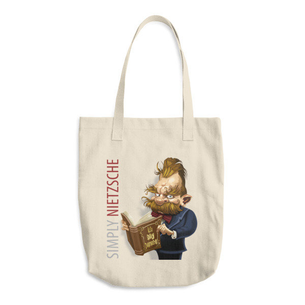 Simply Nietzsche Cotton Tote Bag