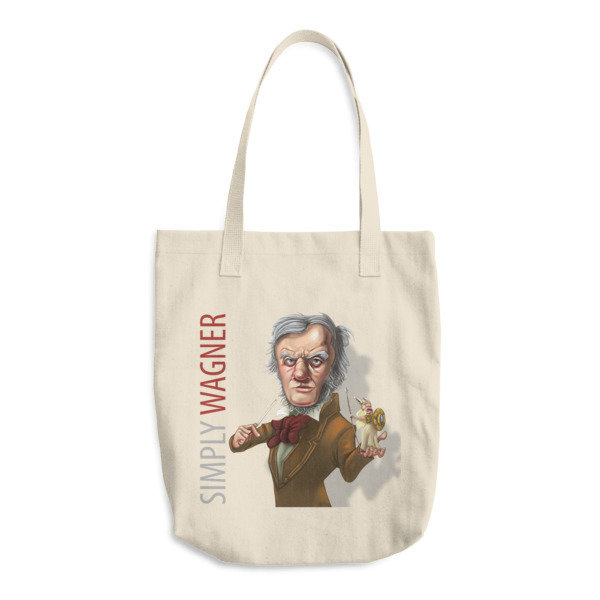 Simply Wagner Cotton Tote Bag