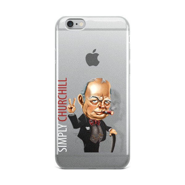 Simply Churchill iPhone Case