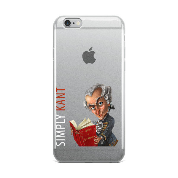 Simply Kant iPhone Case