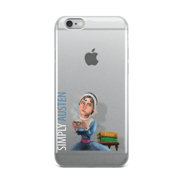 Simply Austen iPhone Case