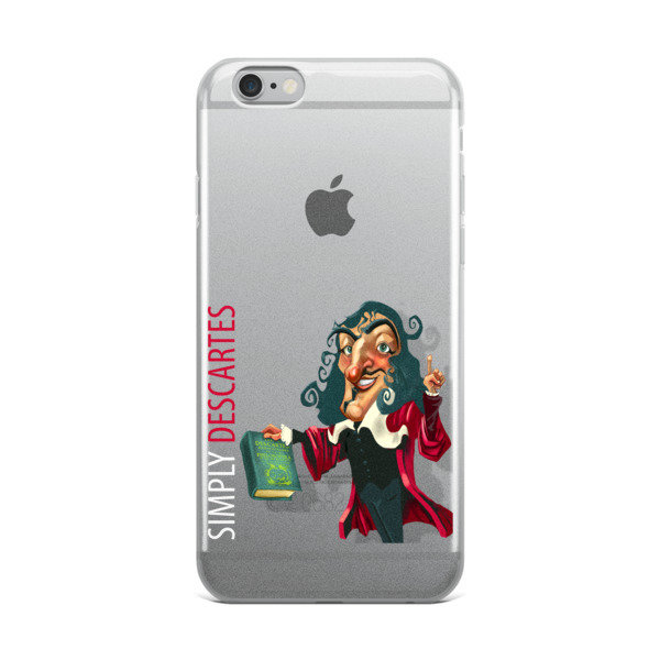 Simply Descartes iPhone Case