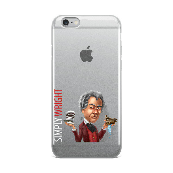 Simply Wright iPhone Case