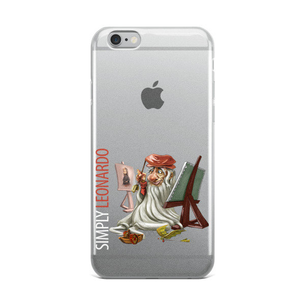 Simply Leonardo iPhone Case