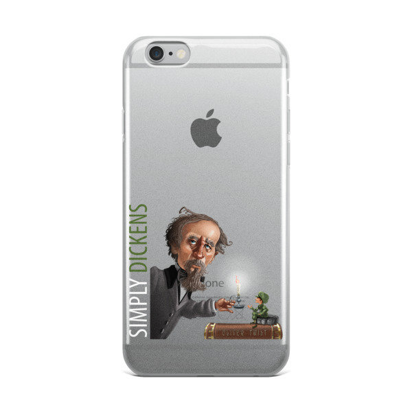 Simply Dickens iPhone Case