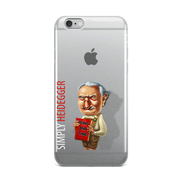 Simply Heidegger iPhone Case