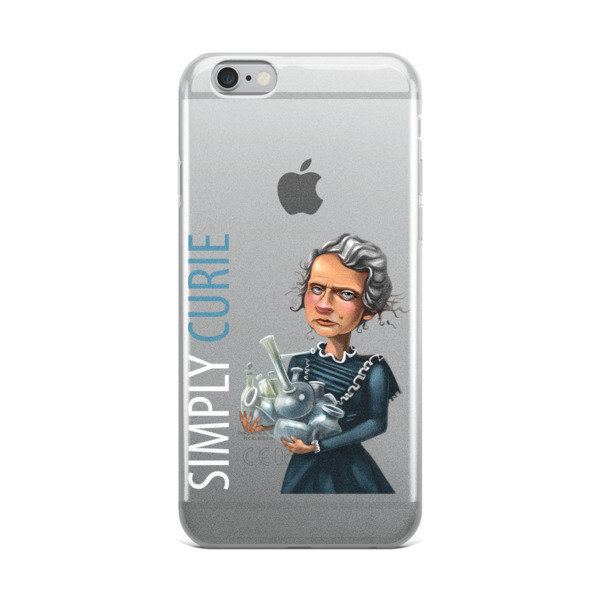 Simply Curie iPhone Case