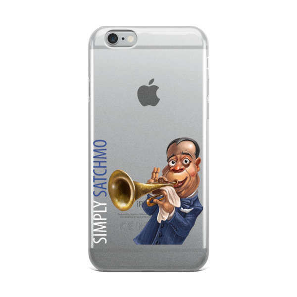 Simply Satchmo iPhone Case