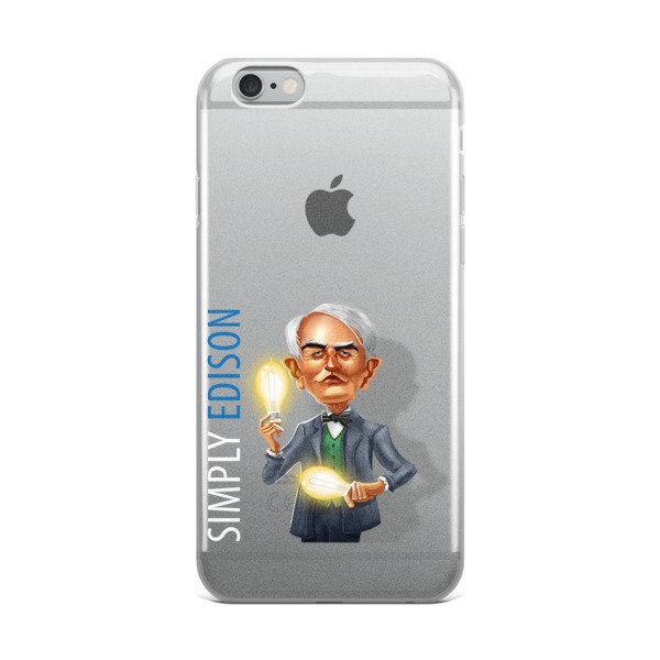 Simply Edison iPhone Case