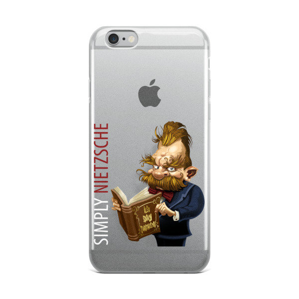 Simply Nietzsche iPhone Case