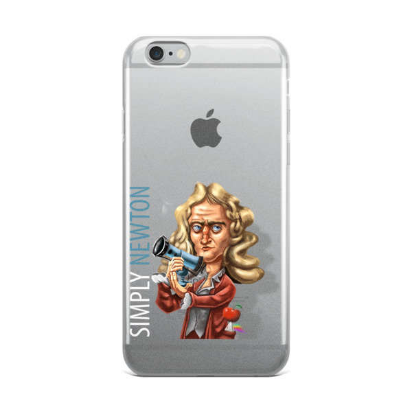 Simply Newton iPhone Case