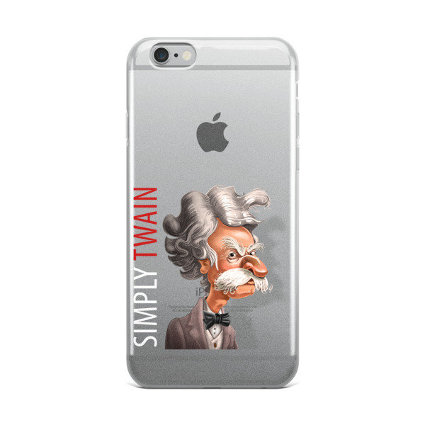 Simply Twain iPhone Case
